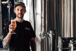 Valley Hops Brewing Head Brewer, Josh Warren